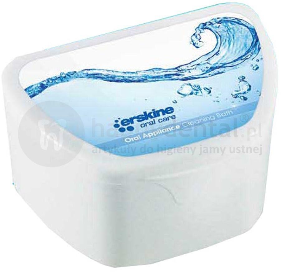 Piksters PIKSTERS Oral Appliance BOX pojemnik do przechowywania, czyszczenia protez zębowych (E1480)