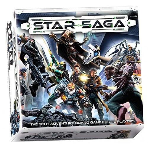 Unbekannt Mantic Games MGSS101 Star Saga: The Eiras Contract, zestaw rdzeniowy
