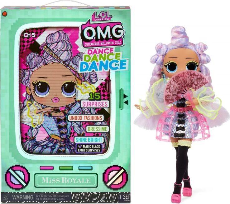 MGA Entertainment Laleczka L.O.L. Surprise OMG Dance Doll, Miss Royale GXP-767594