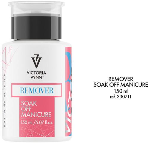 Victoria Vynn REMOVER Soak Off Manicure - do usuwania lakieru hybrydowego oraz do zmiękczania akrylu i akrylo-żelu  150 ml 330711