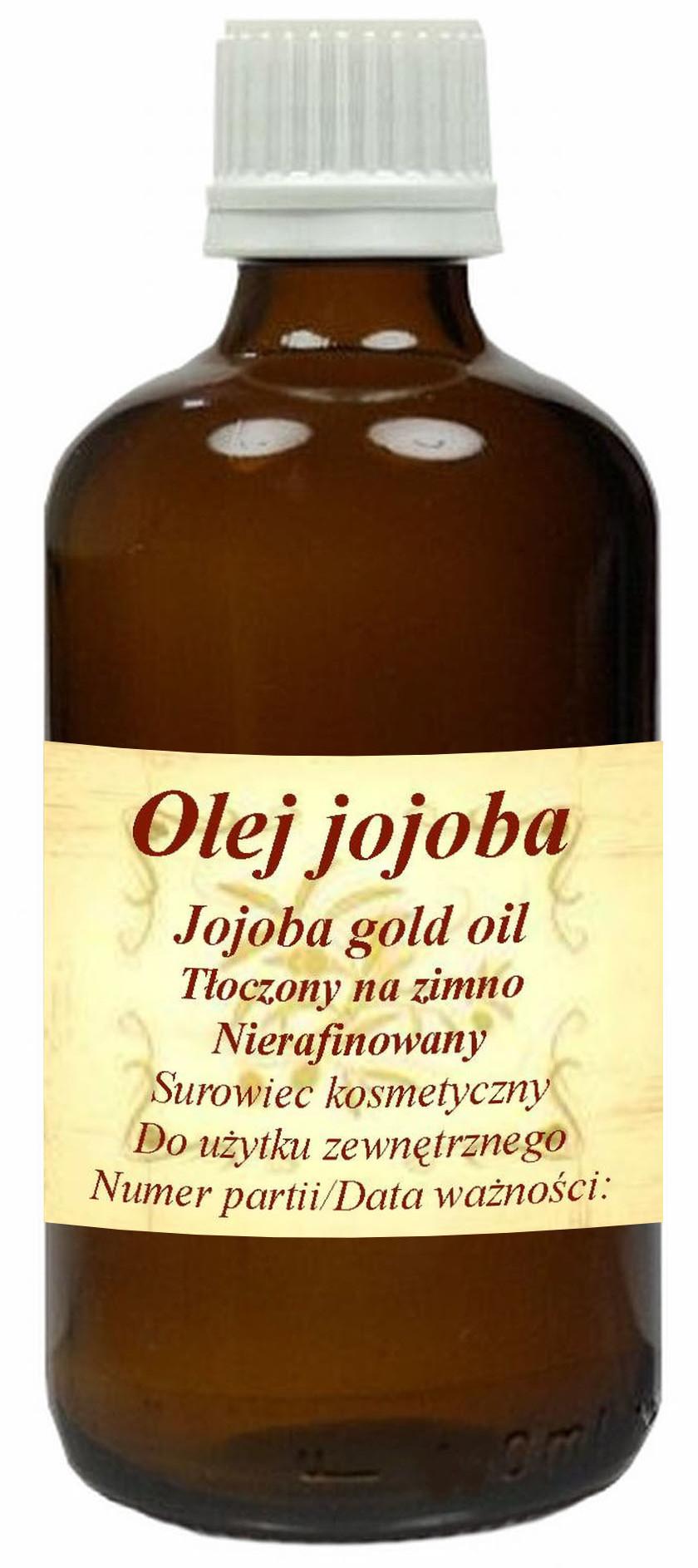 Olej Jojoba Gold 50ml- zimnotłoczony nierafinowany