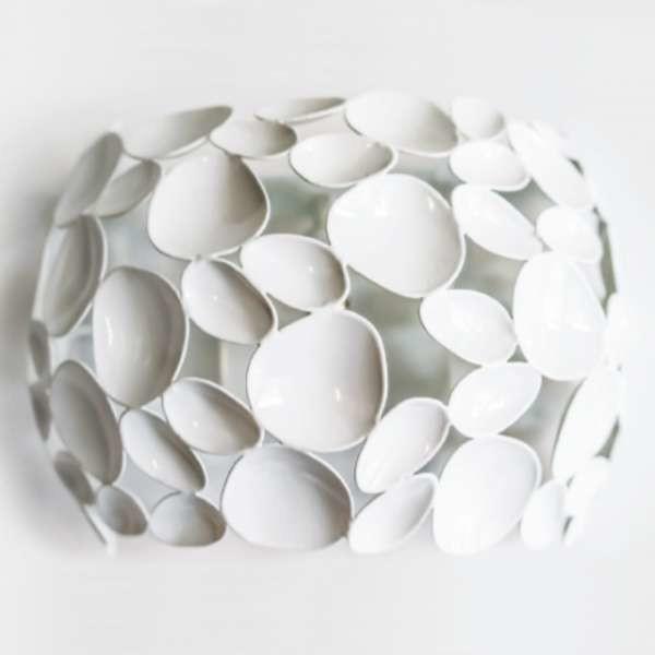 Orlicki Design Kinkiet LAMPA ścienna CARERRA PARETE CROMO dekoracyjna OPRAWA metalowa LED 7W chrom CARERRA PARETE CROMO