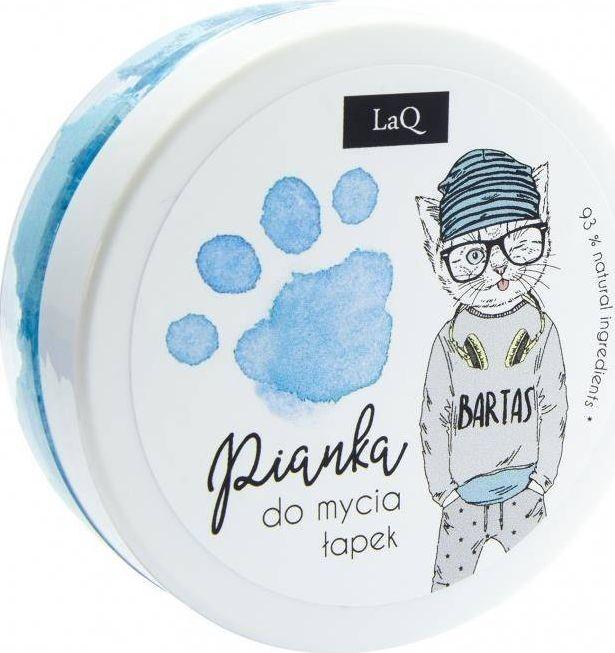 LaQ LaQ Pianka do mycia łapek Niebieska 50ml 5902730836339