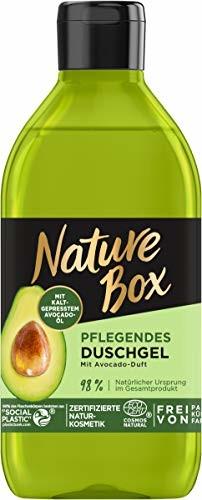 Nature Box pielęgnujący żel pod prysznic z zapachem awokado, 250 ml