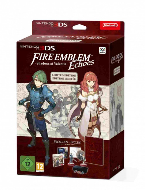 Opinie o Fire Emblem Echoes Shadows of Valentia Special Edition 3DS