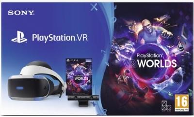 Sony INTERACTIVE ENTERTAINMENT Gogle Wirtualnej Rzeczywistości PlayStation VR + PlayStation Camera V2 + VR Worlds Voucher) Black Friday! PRAWDZIWY! Od 22.11 do 25.11 ! PlayStation VR + PlayStation Camera V2 + VR Worlds