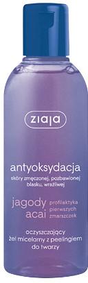 Ziaja Ltd Zakład Produkcji Leków Jagody Acai oczyszczający żel micelarny z peelingiem do twarzy 200 ml 7067663