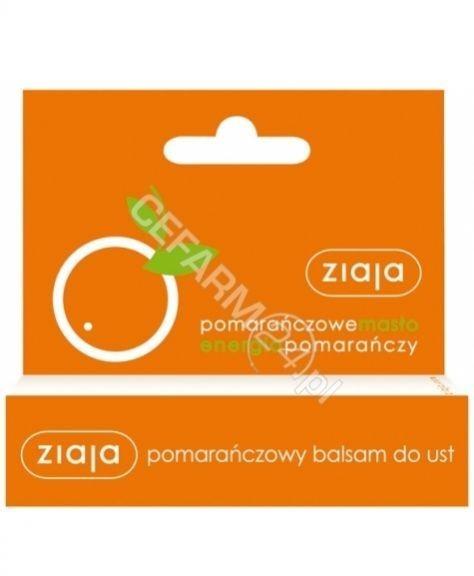 Ziaja Pomarańczowa balsam do ust 10 ml