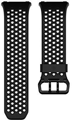 fitbit Ionic sportowa bransoletka, Black, Large, czarny, s FB164SBBKS