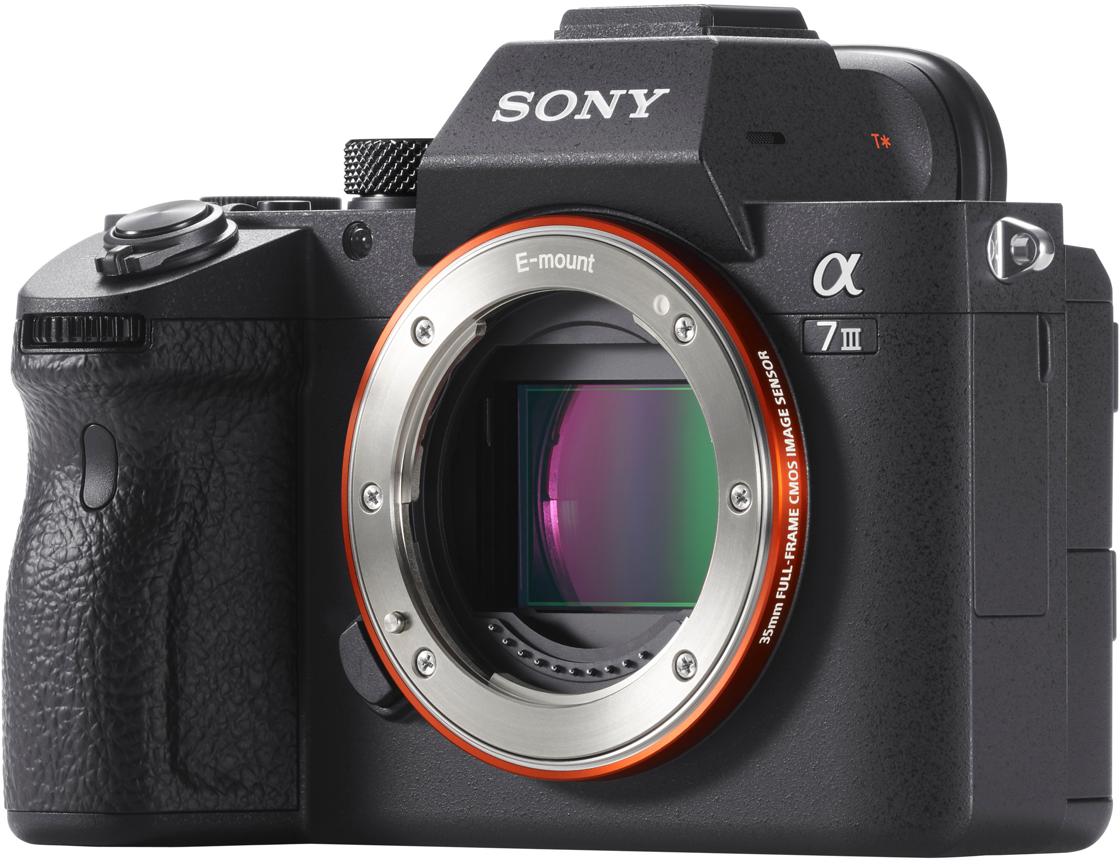 top Sony A7 III body (ILCE-7M3)