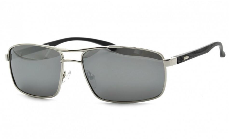 PolarZone Okulary Męskie dla Kierowców Klasyczne Polaryzacyjne Lustrzane POL-72-1 POL-72-1