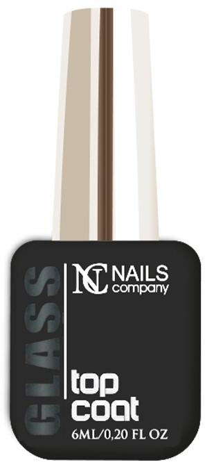 NAILS COMPANY GLASS TOP COAT Nails Company - 6 ml