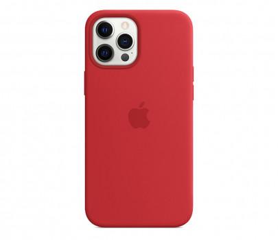 Apple Silikonowe etui iPhone 12 Pro Max PRODUCT RED