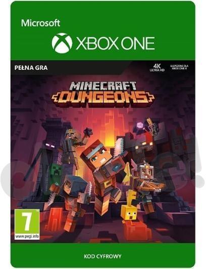 Minecraft Dungeons (GRA XBOX ONE) wersja cyfrowa