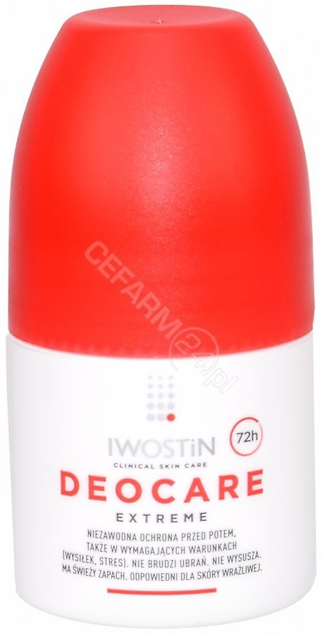 Iwostin Deocare Extreme antyperspirant roll-on 50ml