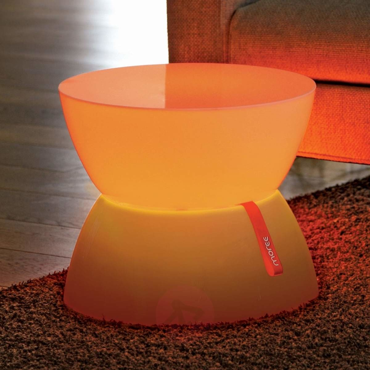 Moree Jasna dekoracyjna lampa LED LOUNGE Mini