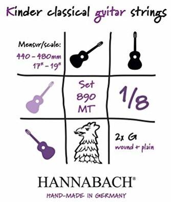 Hannabach 653055 struny do gitary klasycznej 653055