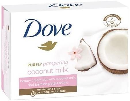 Dove Purely Pampering kremowe mydło w kostce Mleczko Kokosowe z Płatkami Jaśminu 100g 58491-uniw