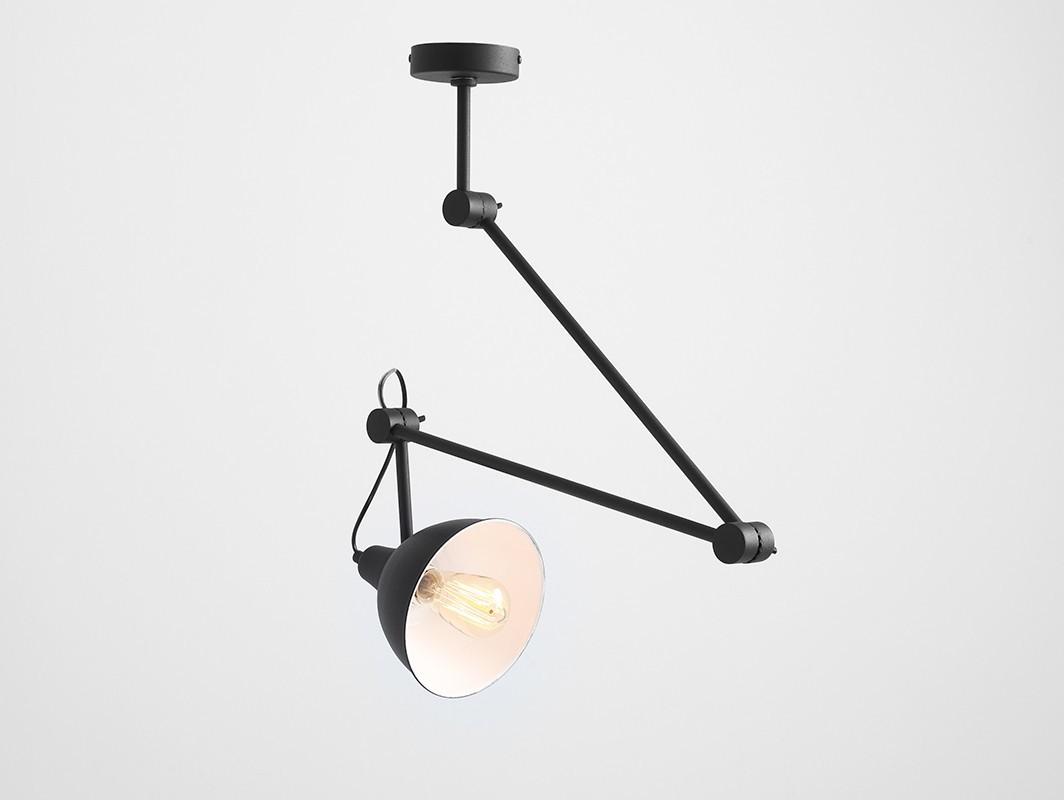 Customform Lampa wisząca COBEN SUSPENSION - czarny LPAX001COBSUSP-02