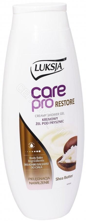 Cussons Mleczko pod prysznic ze składnikami balsamu Luksja Care Pro Restore 500 ml