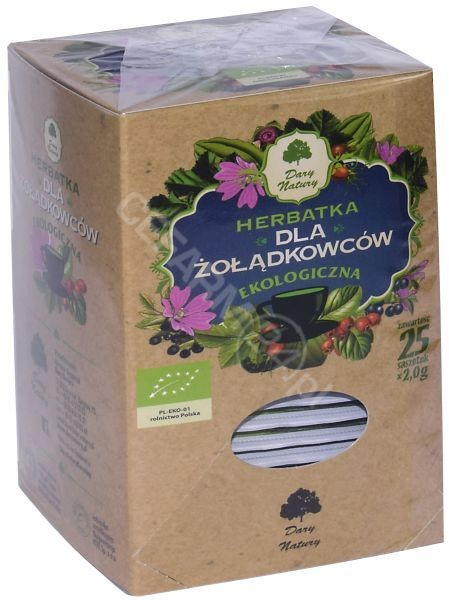 DARY NATURY Dary Natury herbatka dla żołądkowców EKO x 25 sasz