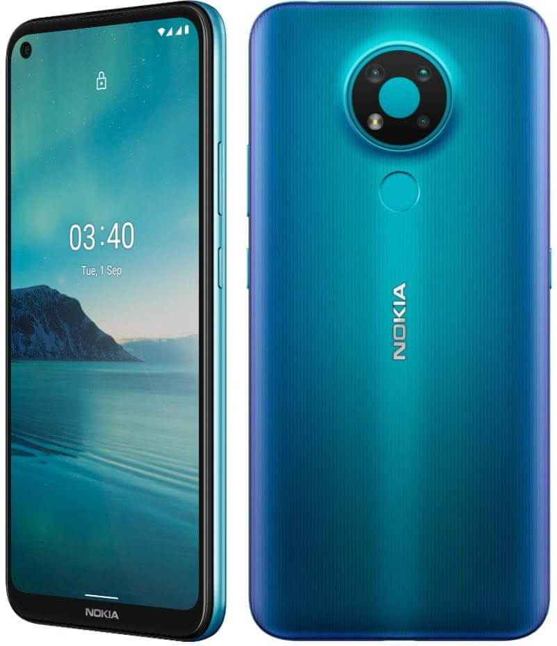 Nokia 3.4 3GB/64GB Dual Sim Niebieski