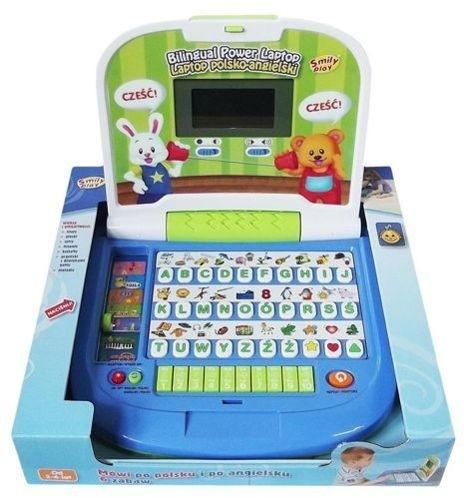 Smily Laptop Dwujęzyczny Podświetlany 8030