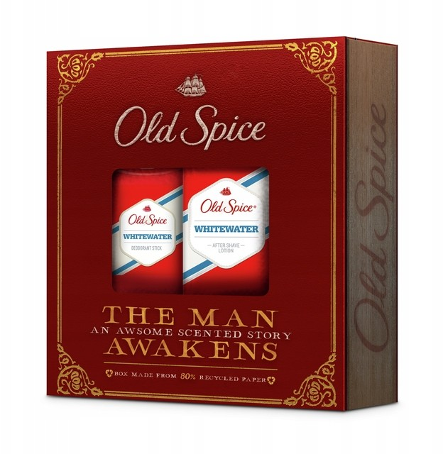 Old Spice Whitewater zestaw kosmetyków As + Sztyft