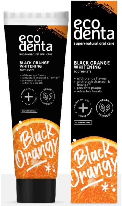 Ecodenta Black Orange pasta wybielająca100ml