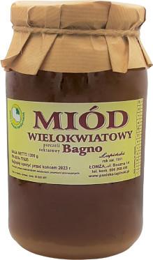 Łapiński Miody miód Wielokwiatowy Bagno 1,2 kg - Łapiński Miody 16S_1565