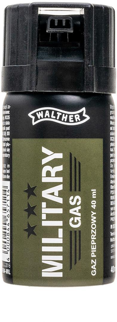 Walther Gaz pieprzowy Military - stożek 40 ml