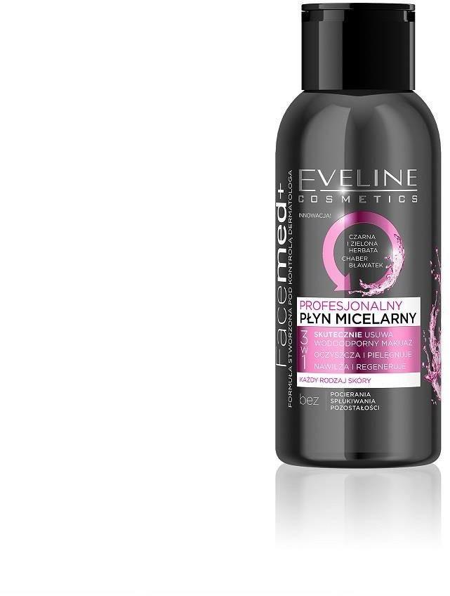 Eveline Cosmetics Facemed+ 3w1 profesjonalny płyn micelarny do każdego rodzaju cery mini 100ml