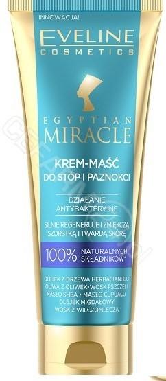 Eveline COSM Egyptian Miracle krem-maść do stóp i paznokci 50 ml