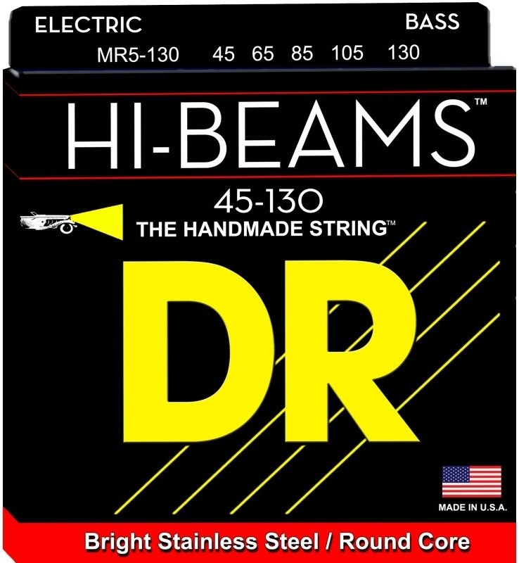 DR MR-5 45 130 Hi Beam struny basowe