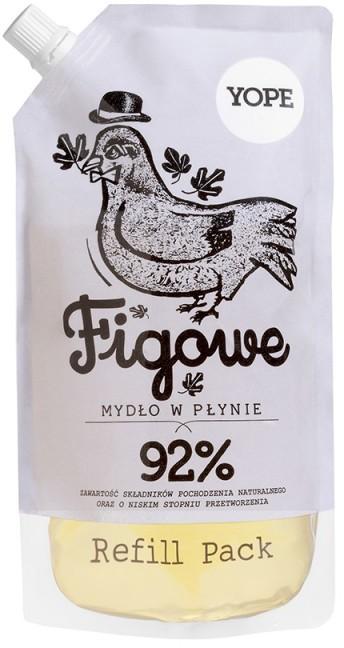 YOPE Mydło w płynie naturalne Figa 500 ml. Zapas () 134846