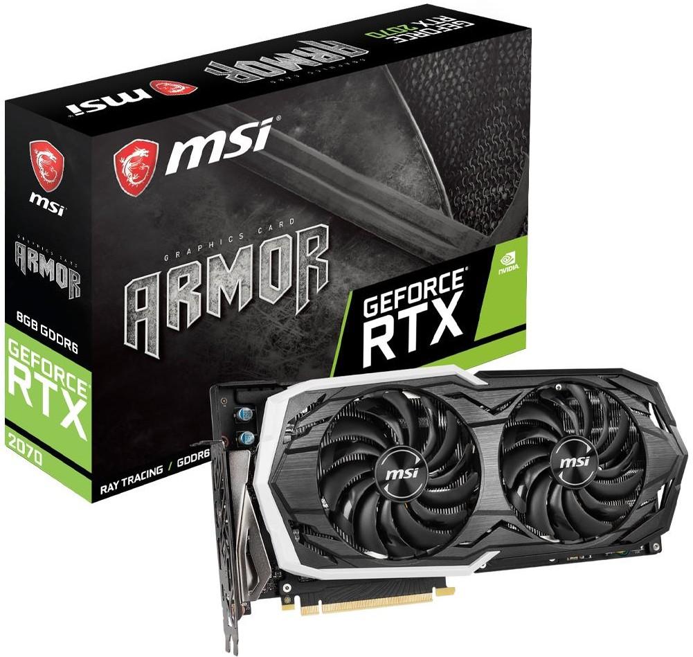 MSI GeForce RTX 2070 ARMOR 8G GDDR6