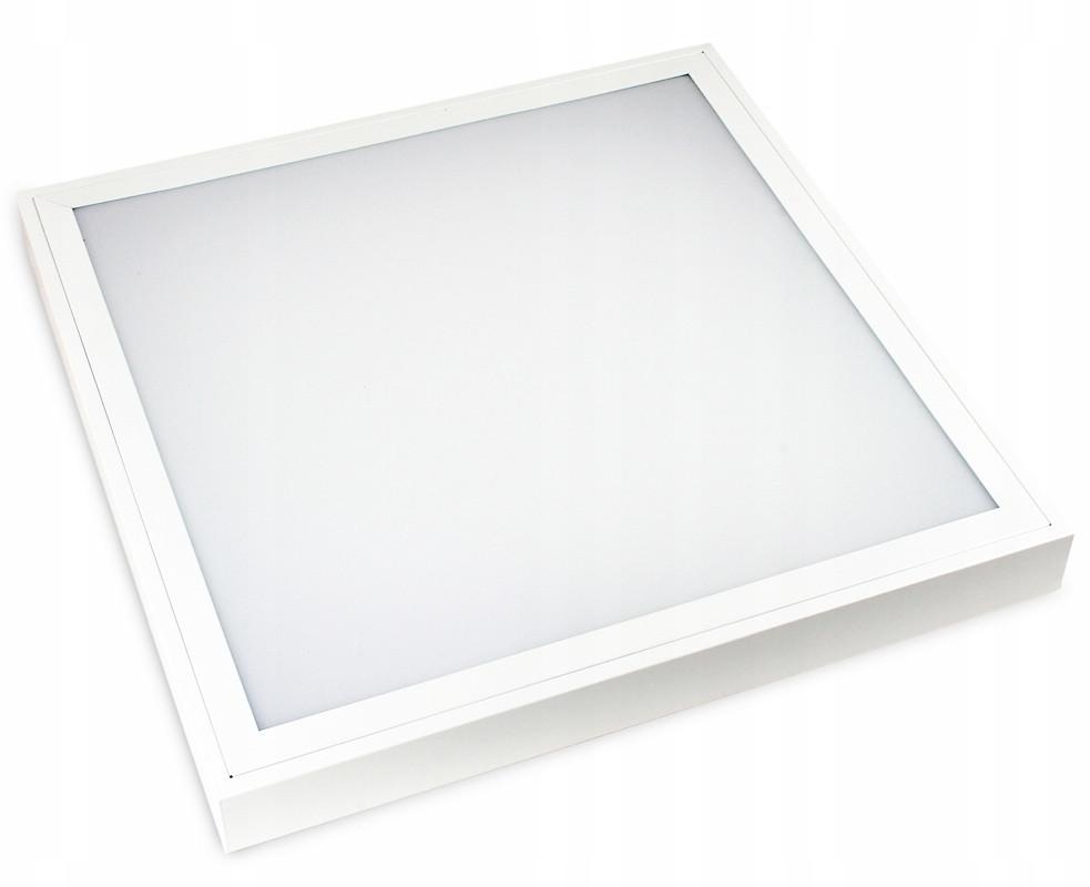 Volteno Panel LED natynkowy 60x60cm 60W b.neutralna 4000K (4250lm) biały