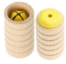 ROHEMA 61807 Scrapy Shaker żółty, dla dzieci
