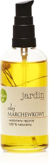 Jardin Jardin Wegański Olej Marchewkowy 100 ml D1E6-11842