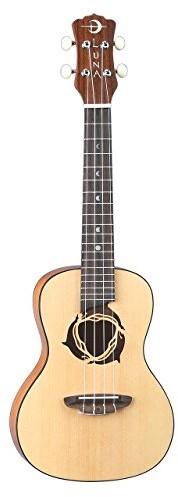Luna Guitars ukedpnspr gitara koncertowa 58,4cm (23cale) UKE DPN SPR