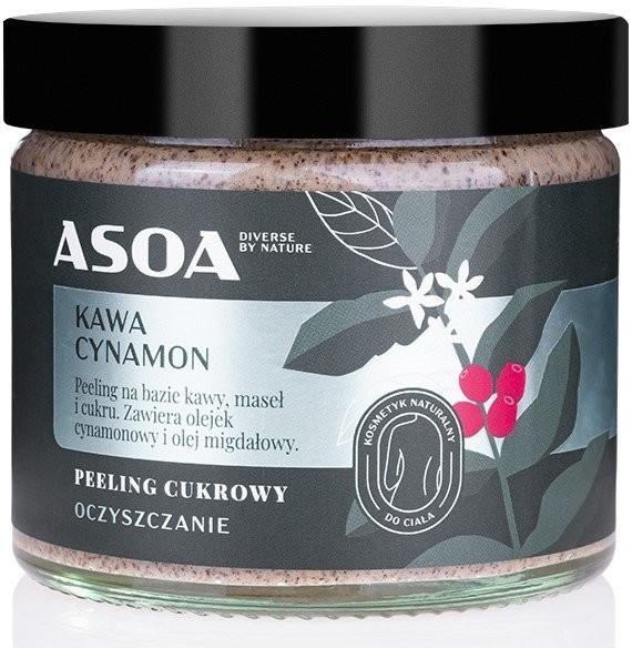 ASOA ASOA peeling cukrowy Kawa/Cynamon 250ml 51476-uniw