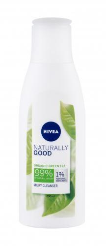 Nivea Naturally Good Green Tea mleczko do demakijażu 200ml