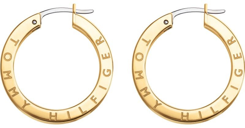 Tommy Hilfiger Jewellery Zegarek Thin Earrings with Stones 2780206