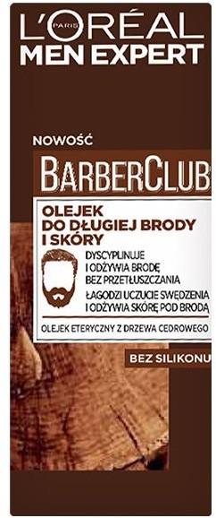 L'Oreal Paris L'Oreal Paris Men Expert Barber Club olejek do długiej brody i skóry 30ml