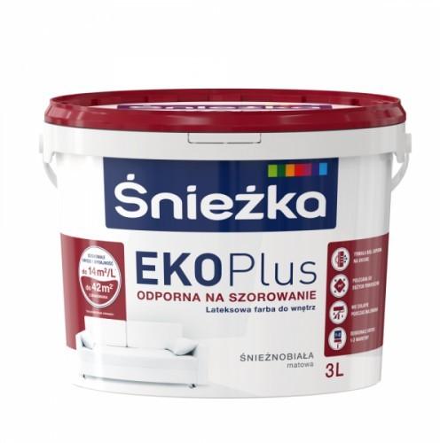 Śnieżka EKO Plus Farba lateksowa 3L q1303030000000100