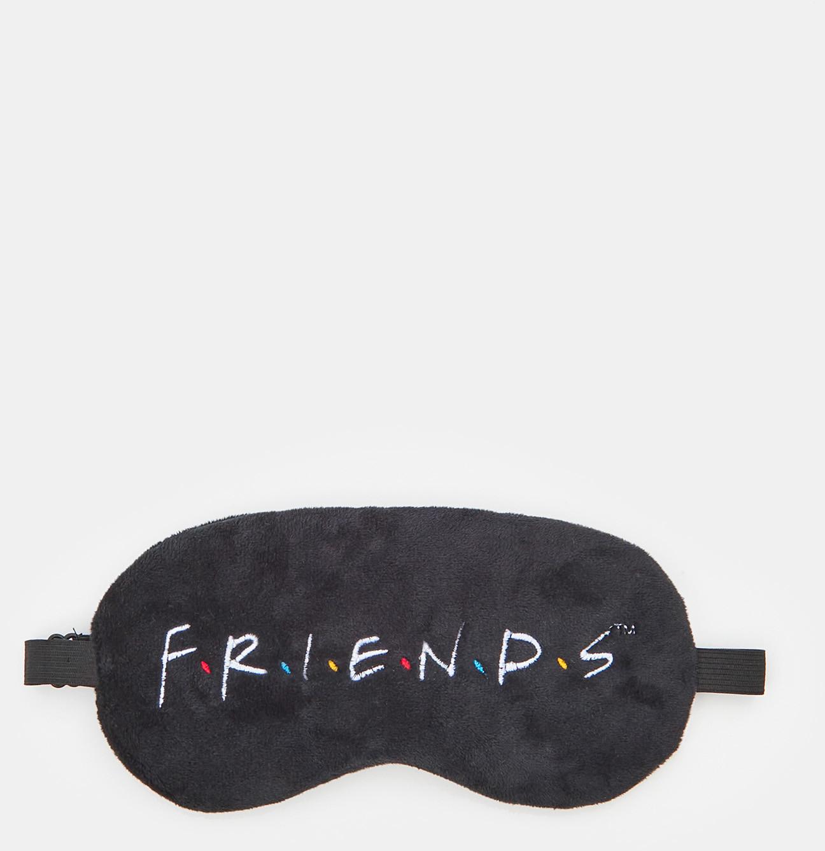 Sinsay Sinsay - Maska do spania Friends - Czarny
