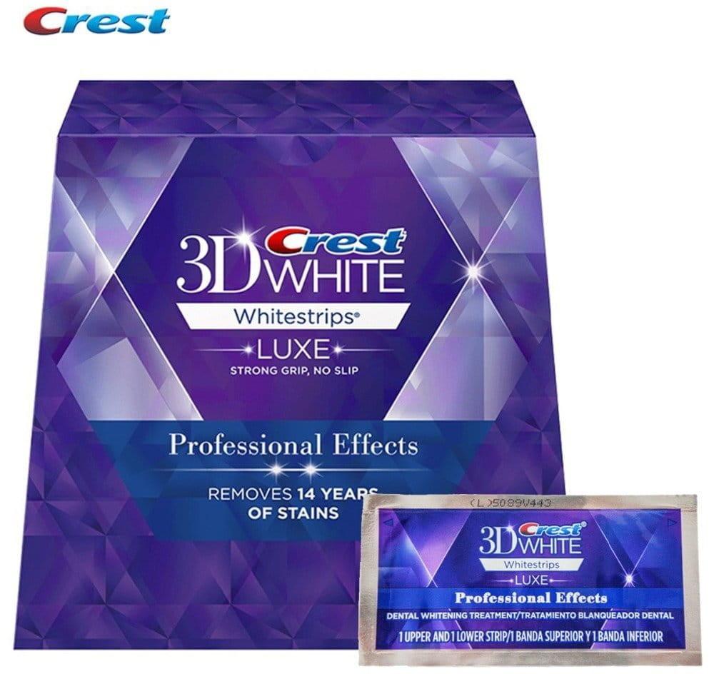 Crest Paski wybielające CREST LUXE Professional Effects (14 pasków (7 saszetek))