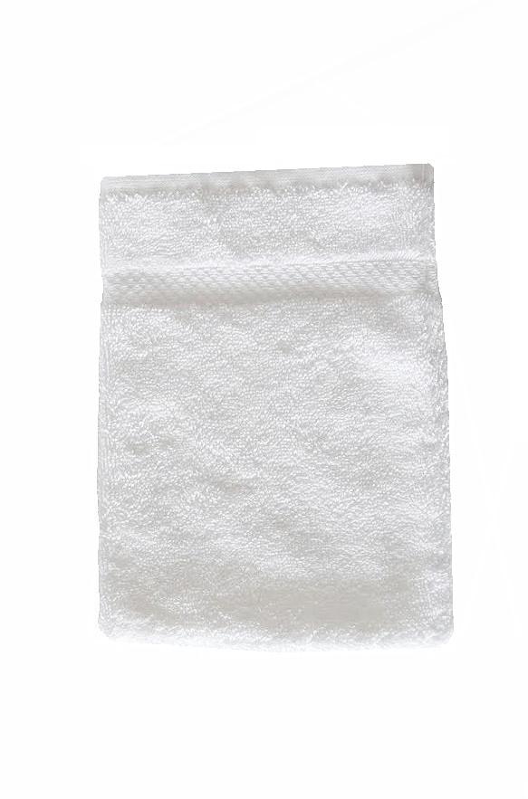 Soft Cotton Frotte rękawica do kąpieli SOFT 16x22cm Biały