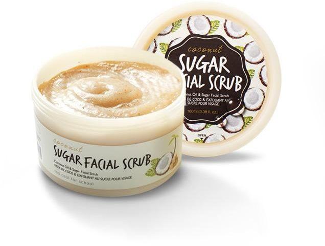 Too cool for school Coconut Sugar Face Scrub Peeling do twarzy 100 ml TCFS_COCO SUGAR FACE SCRUB