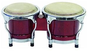Dimavery BG-45 Bongo 4+ 5 wine red 26052100